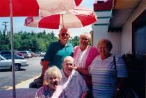MaryJane McAloon, Edgar McAloon, Charles Seekell, Jeannette Seekell Murphy and Irene Seekell