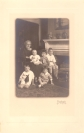 Fanny Kelly Gough with her Grandchildren Jack, Robert, Joseph, David, and Richard